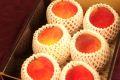 西洋梨カリフォルニア販売 赤く色づく珍しい洋梨を通販で取寄。小箱 約5玉~約6玉