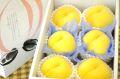黄美娘(きみこ)桃通販 黄桃を販売取寄。果物ギフトに 小箱 5玉~6玉 山梨・他産地