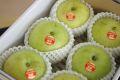 なつひめ梨通販 インパクト世紀 鳥取の青梨を販売取寄。 小箱 約5玉~約6玉 糖度11・5度