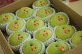 なつひめ梨 インパクト世紀取寄販売 鳥取県の青梨を通販で。5kg 約10玉~約16玉 糖度11・5度