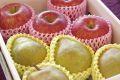 ラフランス4玉&サンふじりんご4玉 お歳暮冬ギフトに