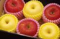 御歳暮 謹賀新年に 紅白詰合 ふじりんご3玉 はるかりんご3玉 お正月用林檎に