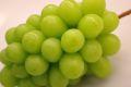 7月配送シャインマスカット葡萄通販 お中元に種なし皮ごと食べられるハウス栽培ぶどうを販売取寄。1房 約400g