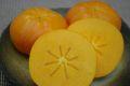 太天柿(たいてんがき)通信販売 愛媛県周桑産福嘉来ふくがきを取寄。糖度15度以上 約5玉~約7玉 果皮擦れ・傷あります