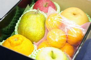 お年賀果物詰合せ通販 新春到着!お正月フルーツギフトを販売取寄。小箱