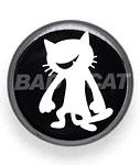 缶バッチ 猫 BAD CAT ネコ ねこ 猫柄 雑貨 SCOPY スコーピー