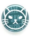 缶バッチ 猫 WATCH CAT ネコ ねこ 猫柄 雑貨 SCOPY スコーピー