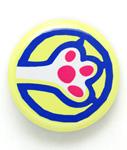 缶バッチ 猫 猫の手→ - キイロ ネコ ねこ 猫柄 雑貨 SCOPY スコーピー