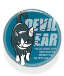 缶バッチ 猫 DEVIL EAR ネコ ねこ 猫柄 雑貨 SCOPY スコーピー
