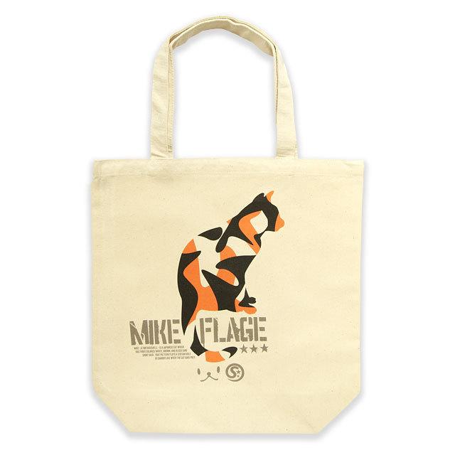 トートバッグ メンズ レディース MIKE-FLAGE ネコ ねこ 猫柄 雑貨 キャンバス バッグ SCOPY スコーピー