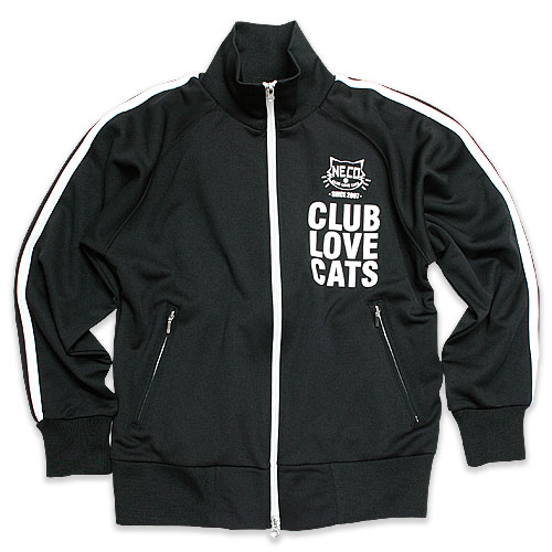 ジャージ メンズ レディース 猫 猫好部 - ブラック ネコ ねこ 猫柄 雑貨 SCOPY スコーピー
