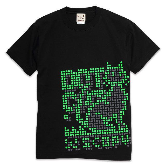 Tシャツ メンズ レディース 半袖 猫 DOT.CAT - ブラック ネコ ねこ 猫柄 雑貨 SCOPY スコーピー