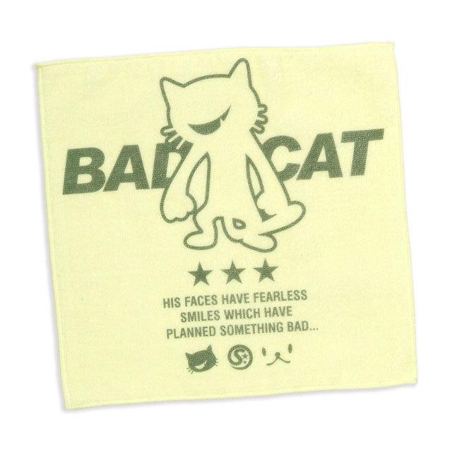 タオル 猫 BAD CAT ネコ ねこ 猫柄 雑貨 - ミニタオル SCOPY スコーピー