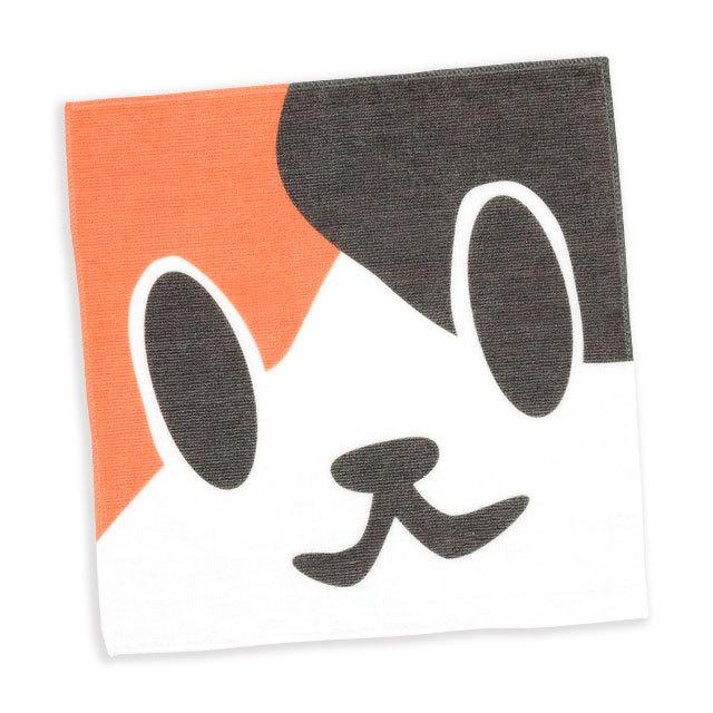 タオル 猫 ねこがお:ミケ ネコ ねこ 猫柄 雑貨 - ミニタオル SCOPY スコーピー