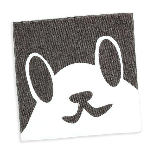 タオル 猫 ねこがお:ハチワレ ネコ ねこ 猫柄 雑貨 - ミニタオル SCOPY スコーピー