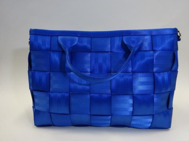 シートベルトバッグA4サイズ(ブルー)