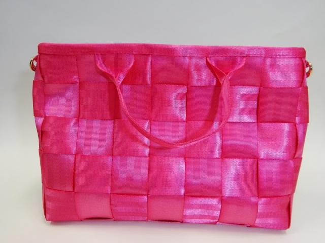 シートベルトバッグA4サイズ(ピンク)