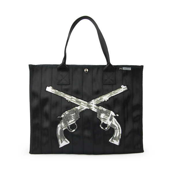 roar x Odds&Ends model #1473 Tote Bag / トートバッグ:Silver Gun