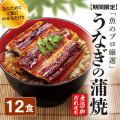 うなぎの蒲焼12食セット