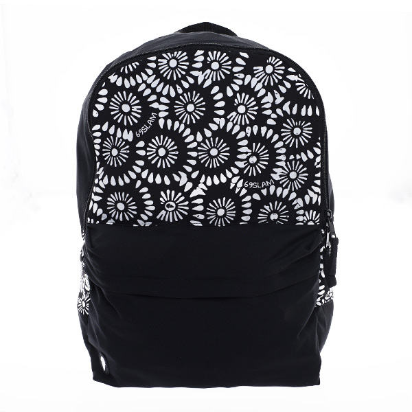 リュック 【ABBFWW-AT】 BACK PACK FLOWER WHITE