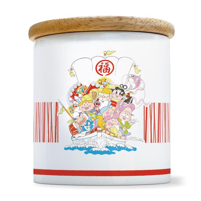 1ポイント景品 A 七福神キャニスター宝船