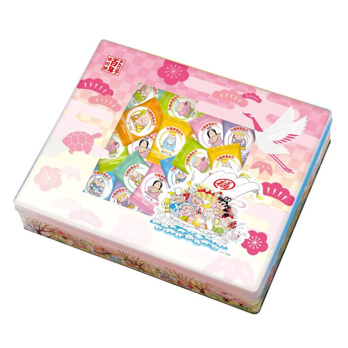 AC-3 七福神あられ[化粧缶入り][7種 750g]