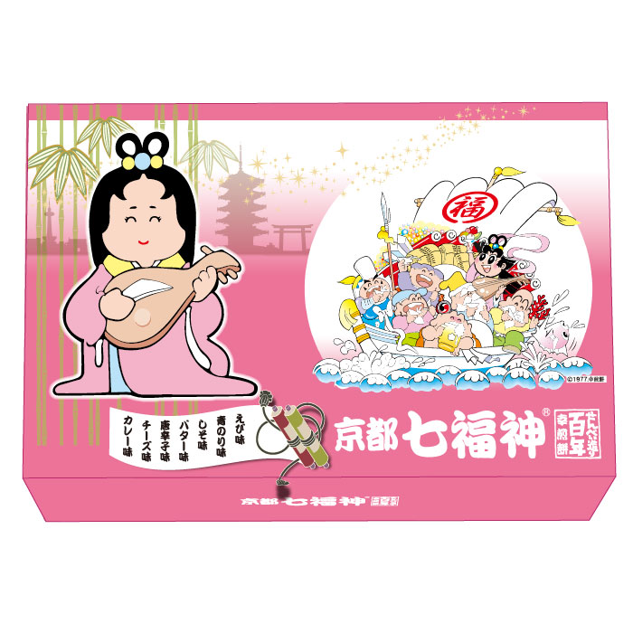 LI-020 京都七福神 [箱入/7種105g×24箱 ]