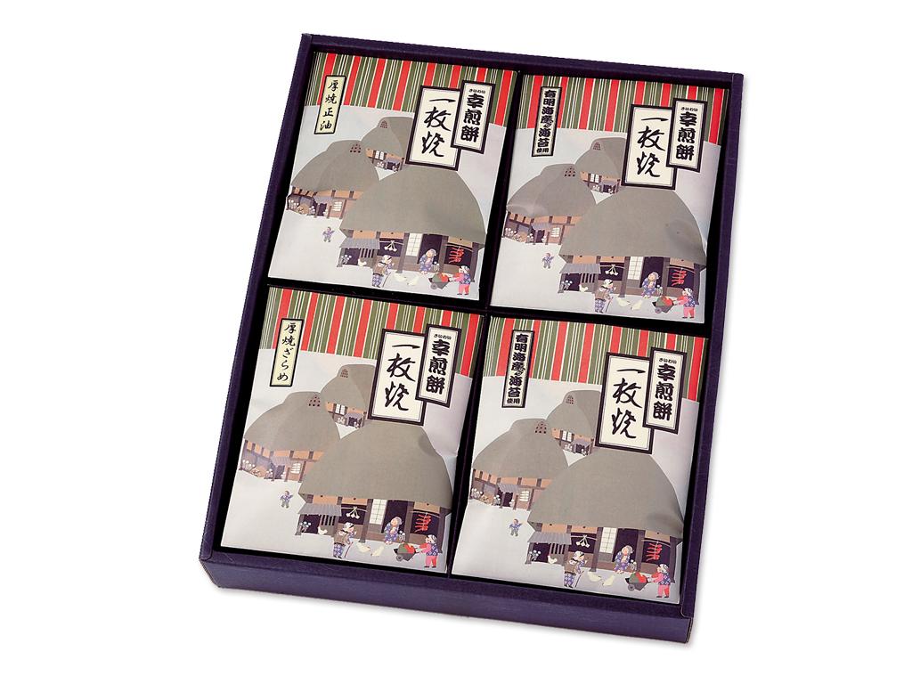 KK-5 一枚焼[箱入/3種x4枚 計12枚]