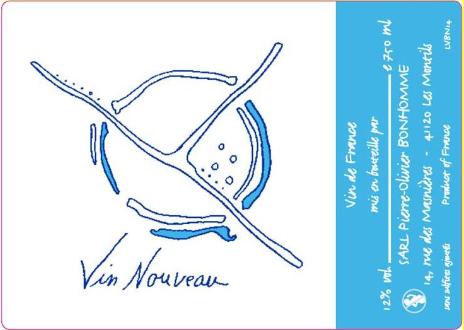 【11月21日(木)解禁】 ヴァン・ヌーヴォー・ブラン 2019  ピエール=オリヴィエ・ボノーム