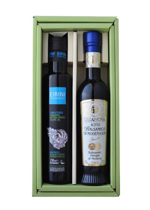 【ギフトボックス入り】 イリニ・プロマリウ & モデナ産バルサミコ酢 250ml