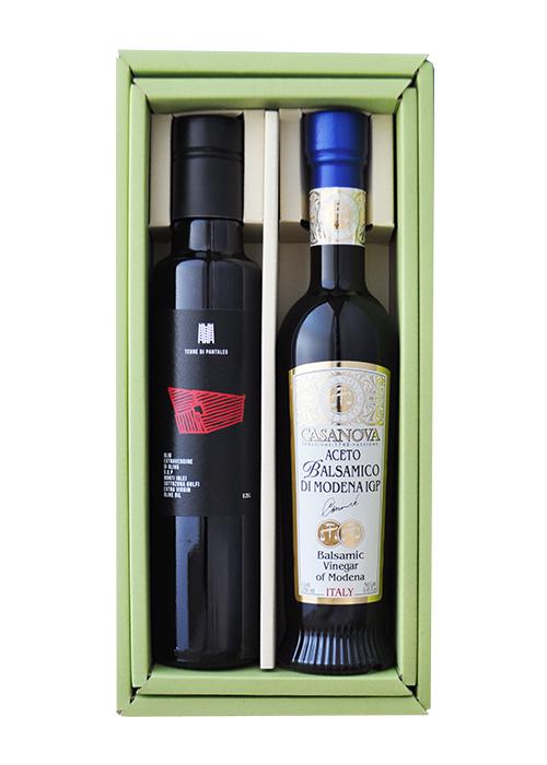 【ギフトボックス入り】 パンタレオ & モデナ産バルサミコ酢 250ml