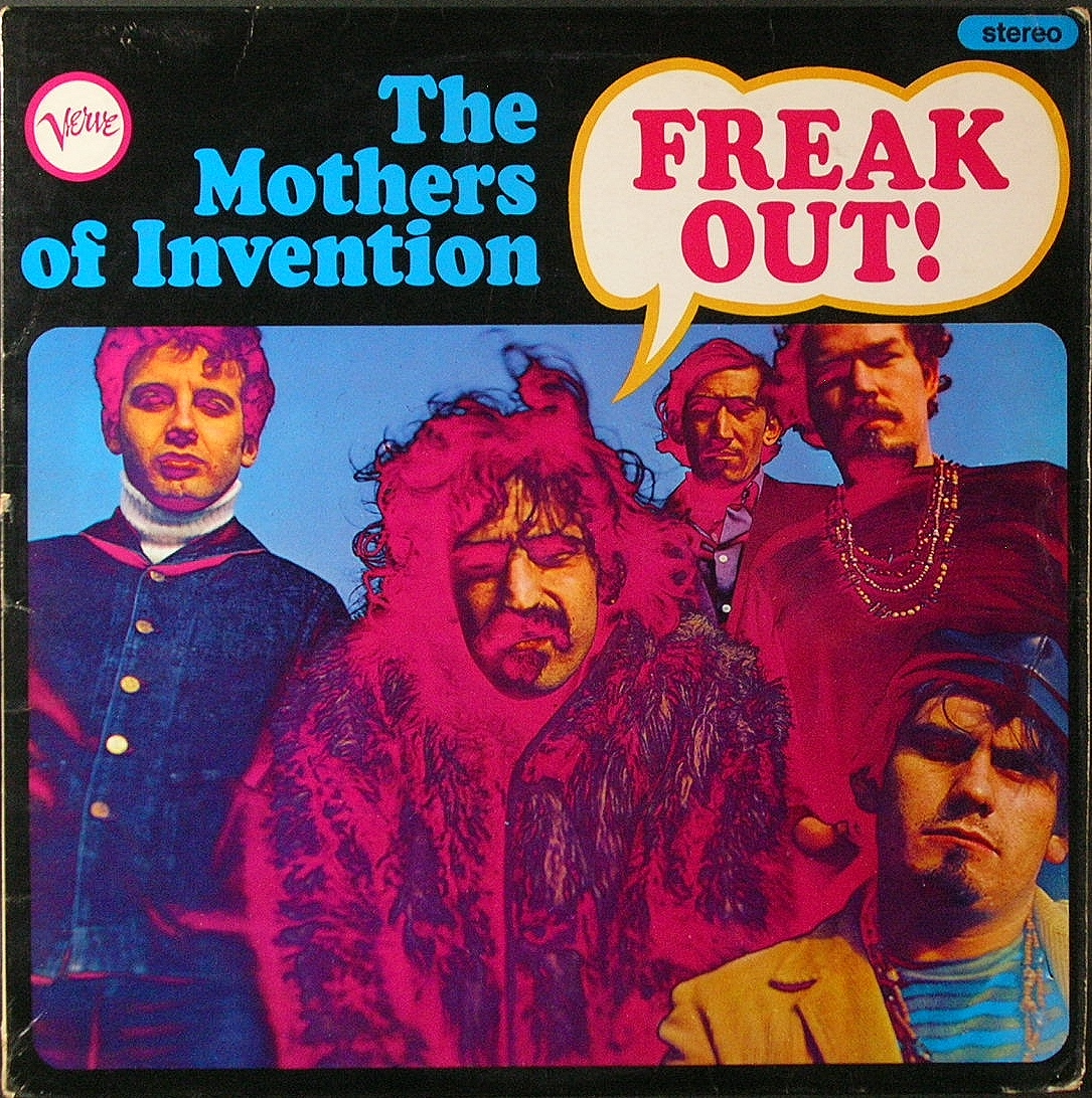 Frank Zappa, Mothers Of Invention フランク・ザッパ / Freak Out フリーク・アウト UK盤