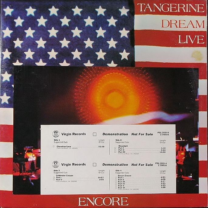 Tangerine Dream タンジェリン・ドリーム / Encore アンコール
