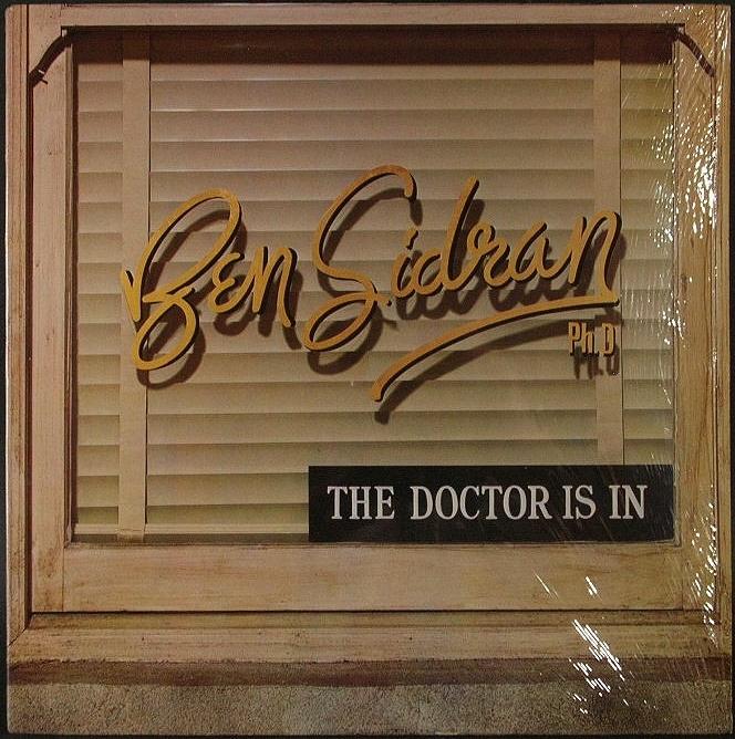Ben Sidran ベン・シドラン / The Doctor Is In