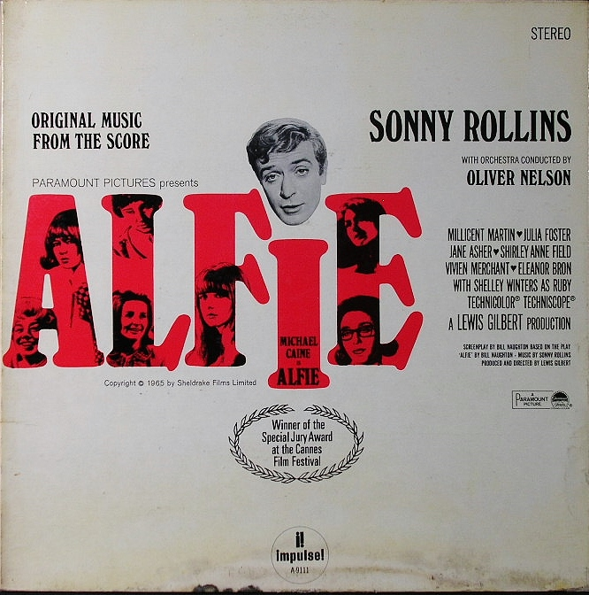 """Sonny Rollins ソニー・ロリンズ / Original Music From The Score """"Alfie"""""""