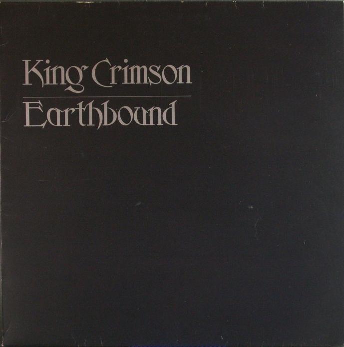 英国盤 King Crimson キング・クリムゾン / Earthbound アースバウンド