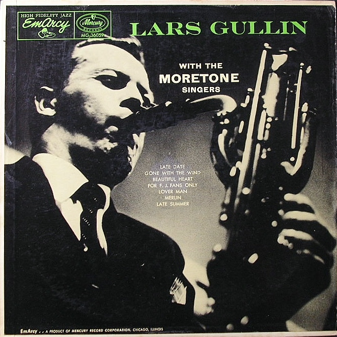 Lars Gullin ラース・ガリン / Lars Gullin With The Moretone Singers