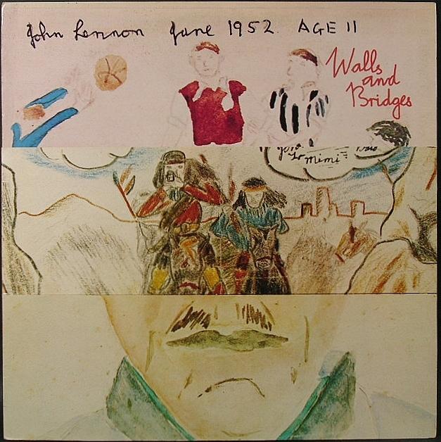 John Lennon ジョン・レノン / Walls And Bridges ウォールズ・アンド・ブリッジズ 英国盤