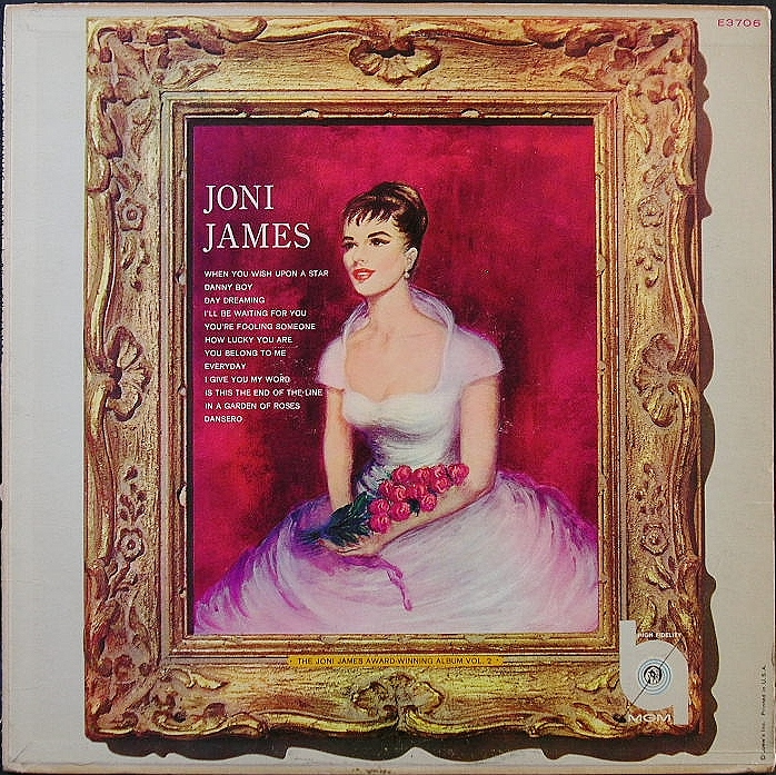 Joni James ジョニ・ジェイムス / Award-Winning Album, Vol. 2