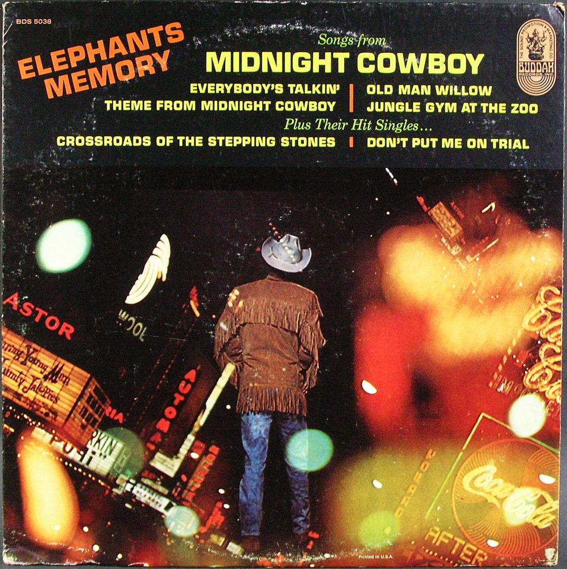 米国盤 Elephants Memory エレファンツ・メモリー/ Songs From Midnight Cowboy