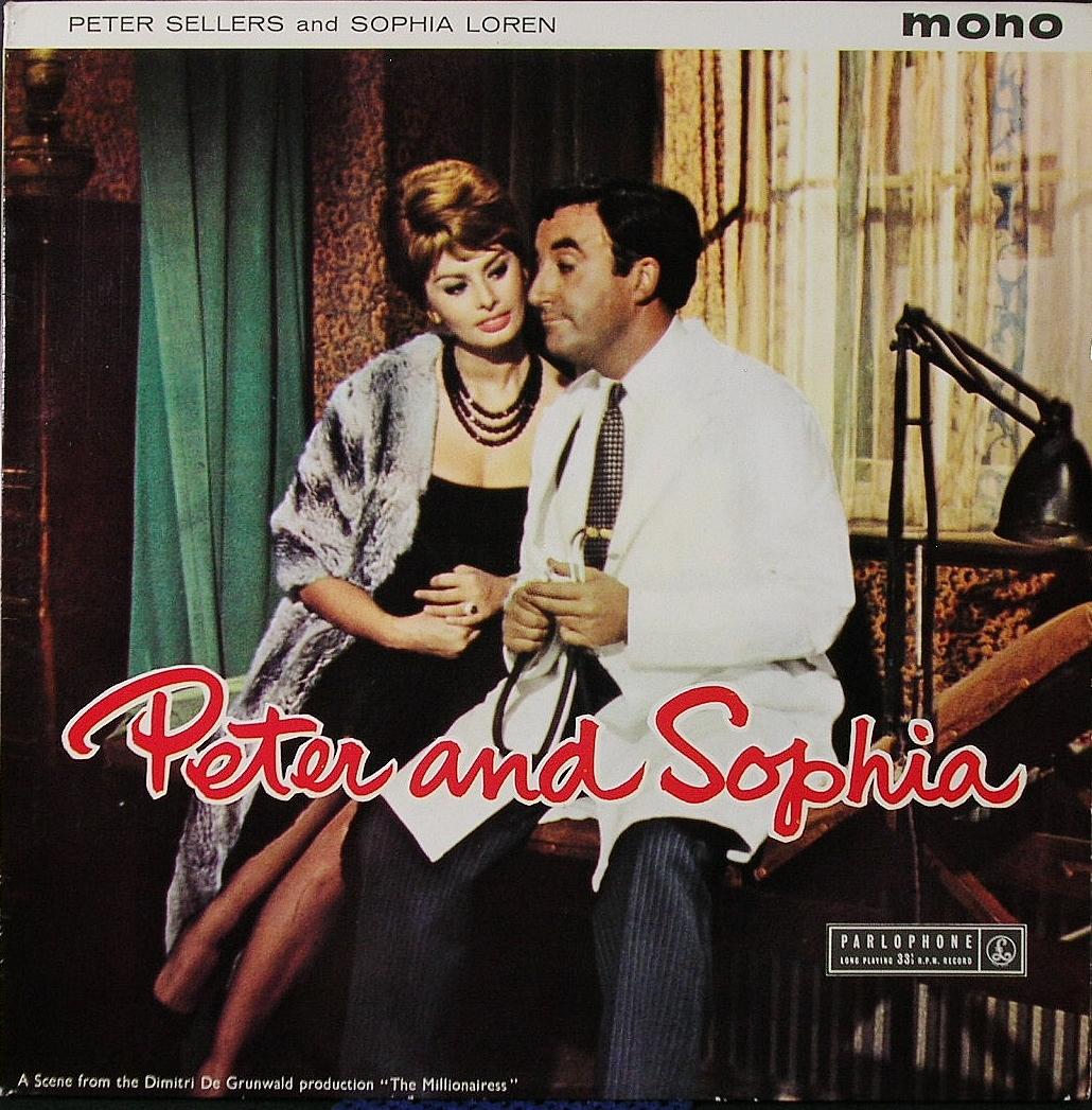 英国盤 Peter Sellers And Sophia Loren ピーター・セラーズとソフィア・ローレン / Peter And Sophia