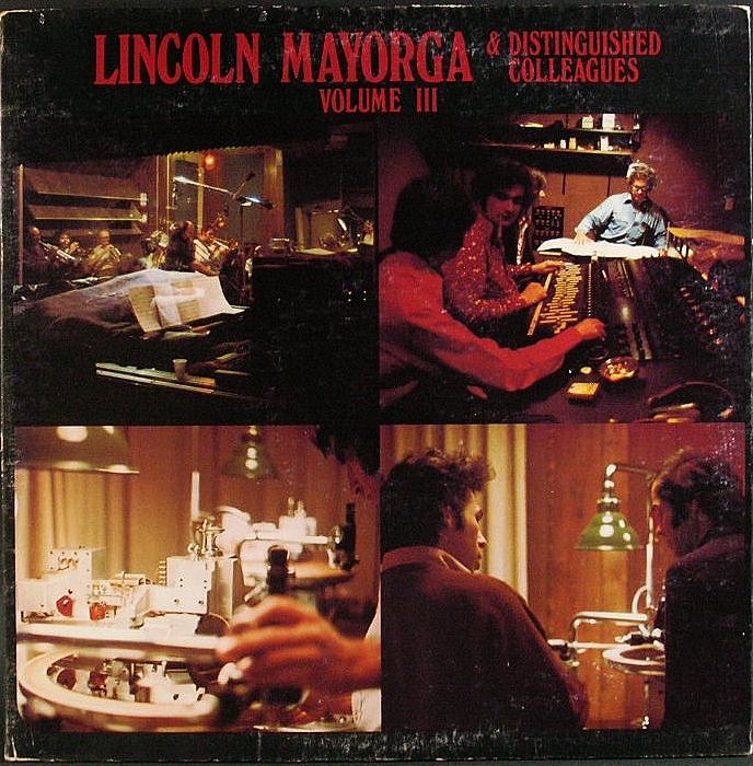 Lincoln Mayorga リンカーン・マイヨーガ / Lincoln Mayorga & Distinguished Colleagues Vol. 3