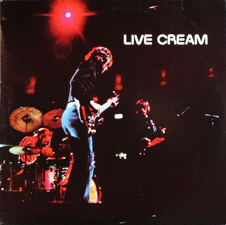 Cream クリーム / Live Cream ライブ・クリーム US盤