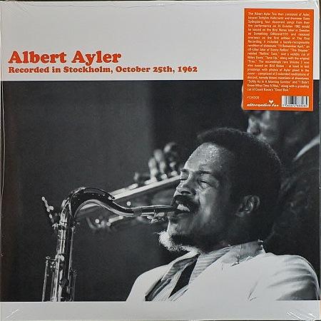 Albert Ayler アルバート・アイラー / Recorded in Stockholm, October 25th, 1962 | 未開封