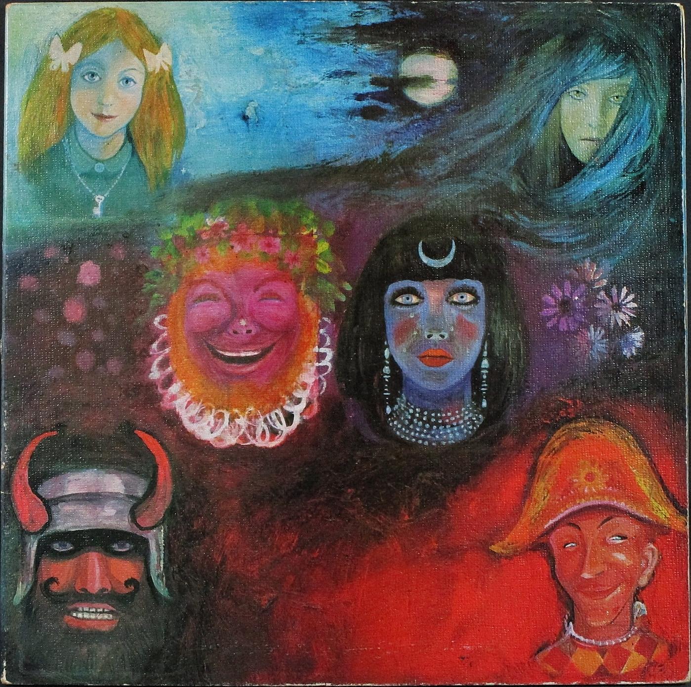 King Crimson キング・クリムゾン / In The Wake Of Poseidon 英国盤