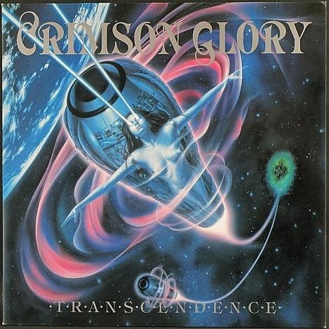 Crimson Glory クリムゾン・グローリー / Transcendence   EU盤