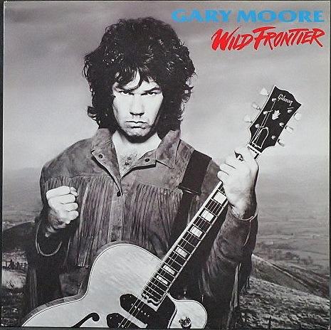 Gary Moore ゲイリー・ムーアー / Wild Frontier   UK盤