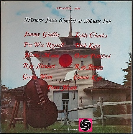 VA - Oscar Pettiford, Pee Wee Russell, Jimmy Giuffre, 他  / Historic Jazz Concert At Music Inn