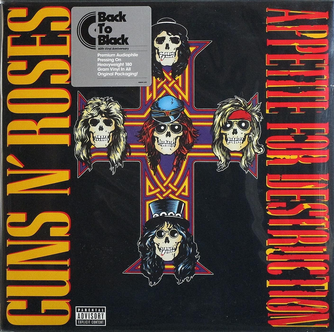 Guns N' Roses ガンズ・アンド・ローゼズ / Appetite For Destruction アペタイト・フォー・ディストラクション 重量盤