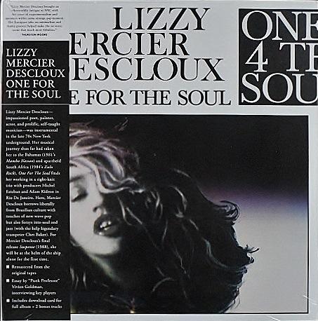 Lizzy Mercier Descloux リジー・メルシエ・デクルー / One For The Soul ワン・フォー・ザ・ソウル   未開封